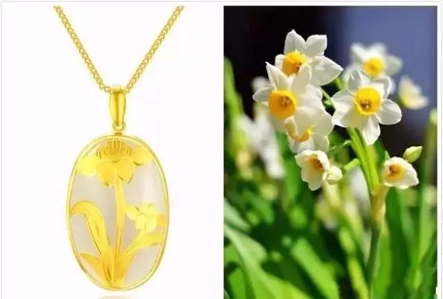 """黄金首饰各种""""名花""""的寓意和象征-黄金项链的寓意和象征"""