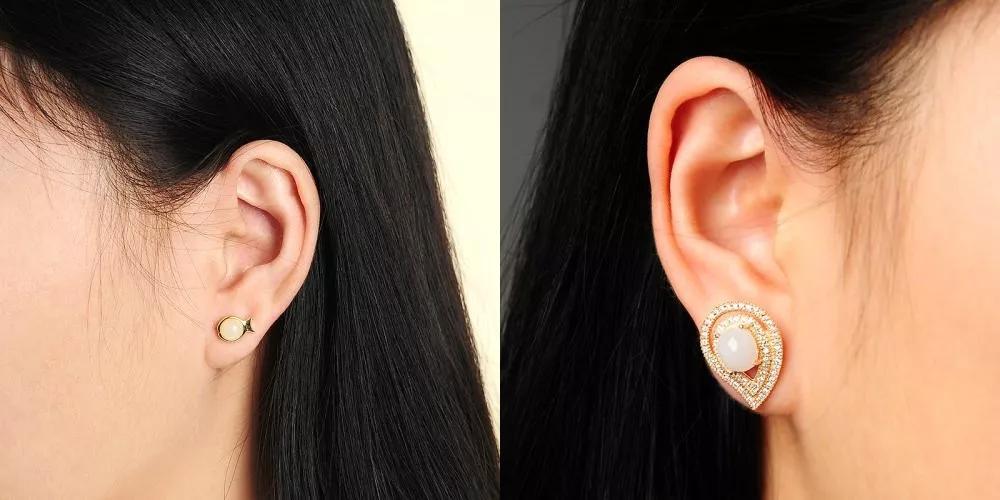 耳钉耳环怎么选,如何选耳饰