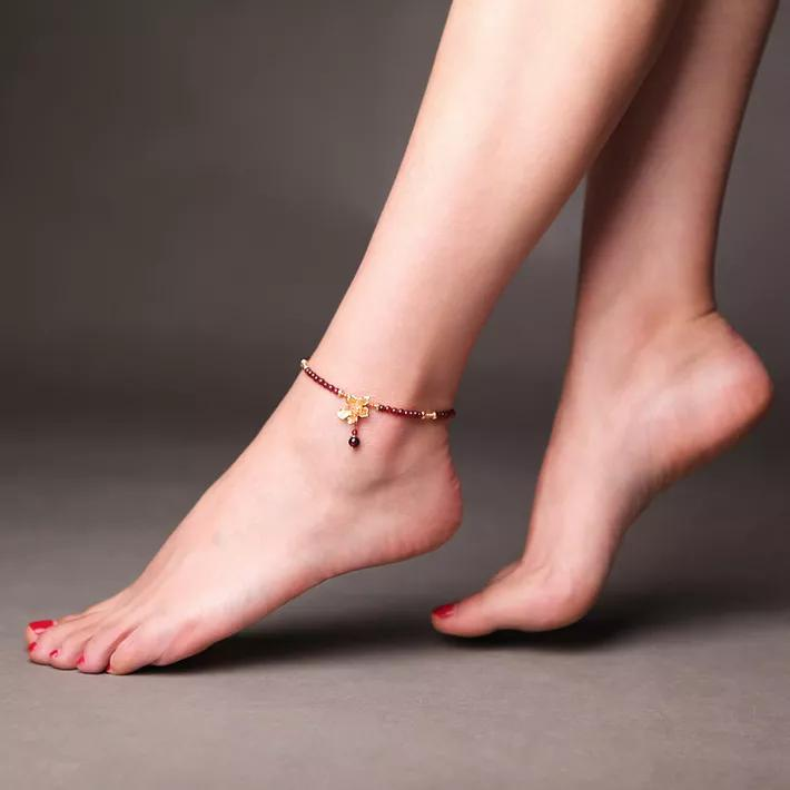 怎么选合适的脚链?脚链的寓意与佩戴禁忌