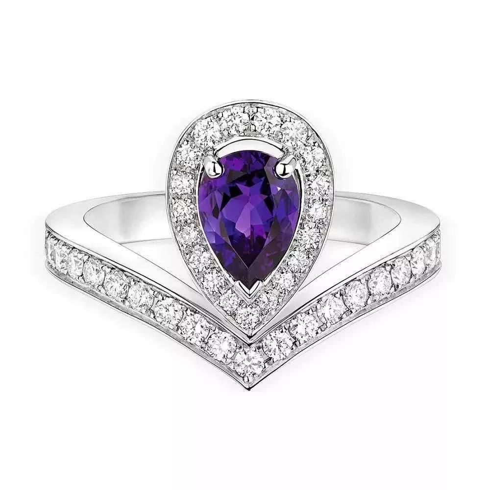 这种常见宝石,曾是王室专属,价比钻石!紫水晶寓意