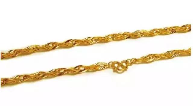 24款经典常见黄金项链名称及样式!你一定用得到!