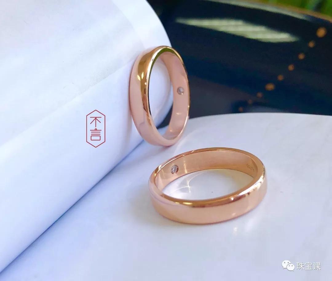 九款经典对戒推荐给你!藏在戒指里的爱情蜜语甜酥了…