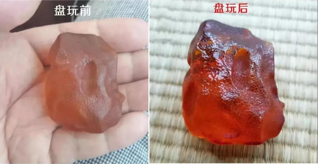 那也叫琥珀蜜蜡一手货源,15块克价的全皮原石见过没?
