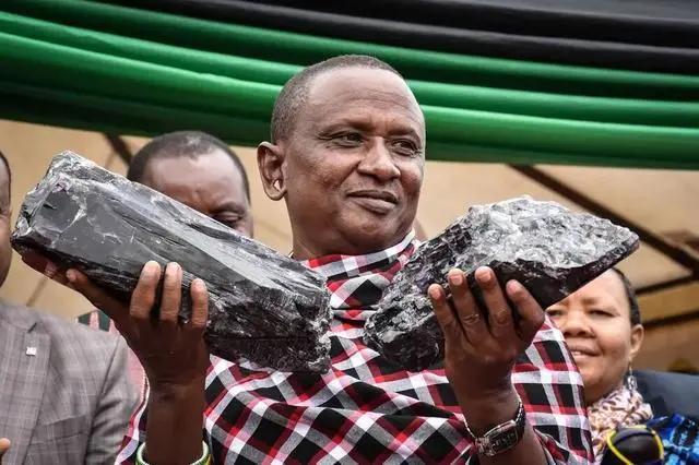 如何挑选坦桑石?52岁男子发现两块巨型石头,政府奖励77亿,啥石头?