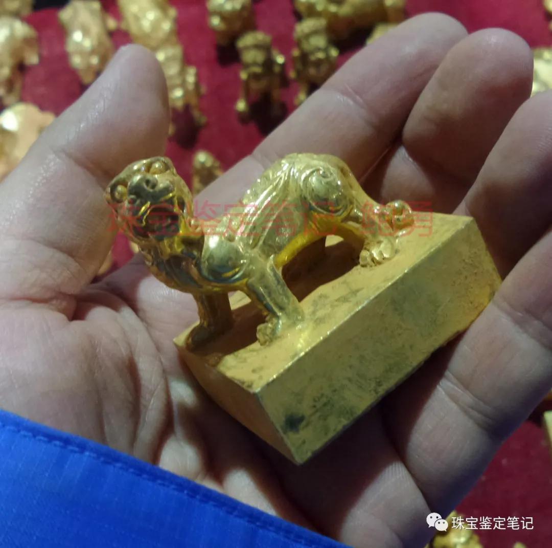 """检测案例:金灿灿、黄澄澄的大金条子切开竟然是""""白瓤""""!假金银器都长啥样啊?"""