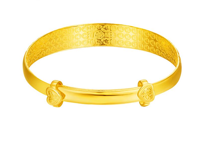 送妈妈和老婆,选多少克的黄金手镯最合适?