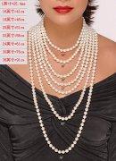 珍珠项链长短意义(女士不可不知)