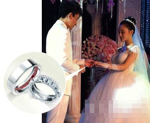 国内明星结婚钻戒 大牌女明星结婚钻戒