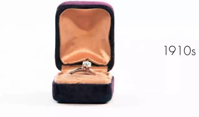 3分钟看完婚戒近百年的演变,或许这就是女人一定要钻戒的原因吧