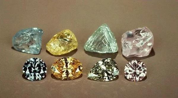 莫桑黄钻-合成彩钻的区别