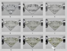 """钻石4C分级之""""颜色等级""""篇!应该如何挑选钻石色级?"""