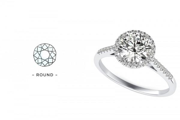 为什么大家都爱选圆形钻戒?