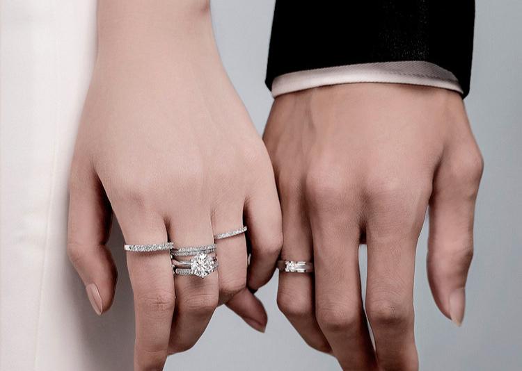 绵竹人怎么挑选适合的结婚钻戒?